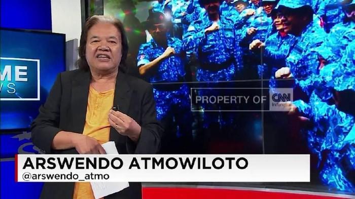 Arswendo Atmowiloto mengidap kanker kandung kemih (Foto: CNN Indonesia)