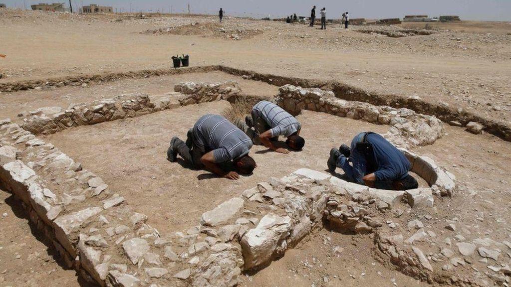 Penemuan Langka! Reruntuhan Masjid Berusia Ribuan Tahun di Israel