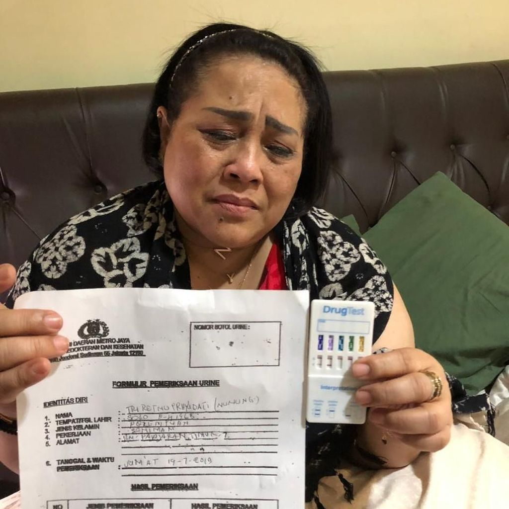 Komedian Nunung Ditangkap Terkait Narkoba, Polisi Sita Sabu 0,36 Gram