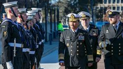KSAL Bertemu KSAL Australia, Sepakat Tingkatkan Kerja Sama di Bidang Maritim