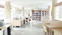 Asyiknya Lapangan Gasibu di Bandung, Punya Perpustakaan