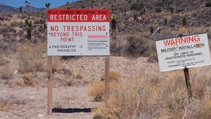 Area 51.Foto: The Sun
