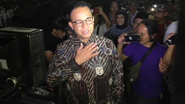 Gubernur DKI Jakarta Anies Baswedan. Foto: Hanif Hawari