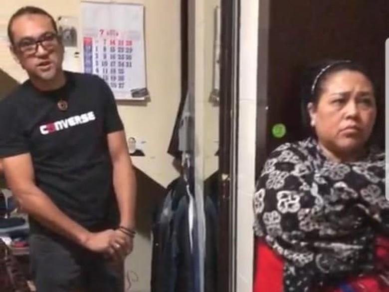 Nunung dan suami Foto: screenshoot video