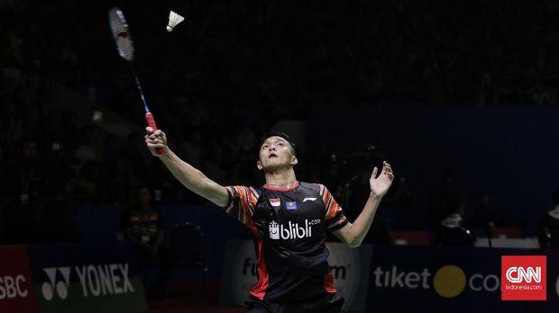 Hasil Korea Open 2019: Jonatan Menang Dua Gim
