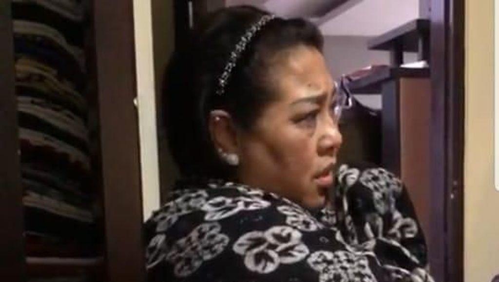 Polisi Bongkar WC Tempat Nunung Buang Sabu saat BAB