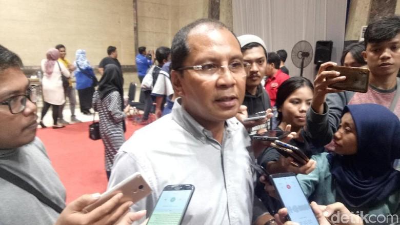 Eks Wali Kota Makassar, Moh Ramdhan Pomanto (Ibnu Munsir/detikcom)