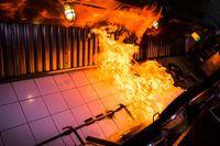 Waduh! Remahan Tempura Picu Kebakaran di Restoran Ini