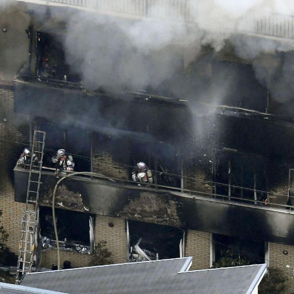 33 Orang Tewas dalam Kebakaran di Kyoto Animation, Jepang Terguncang