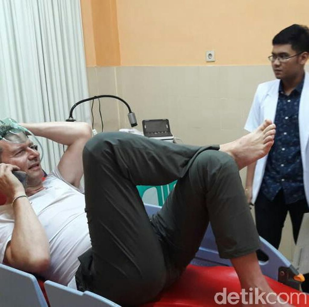 Dua WNA yang Alami Kecelakaan di Lereng Ijen Dirawat di Rumah Sakit
