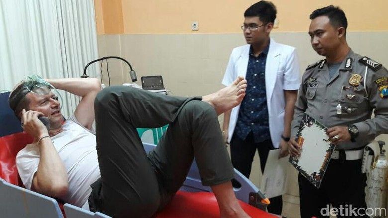 Dua WNA yang Alami Kecelakaan di Lereng Ijen Sempat Dirawat di Rumah Sakit