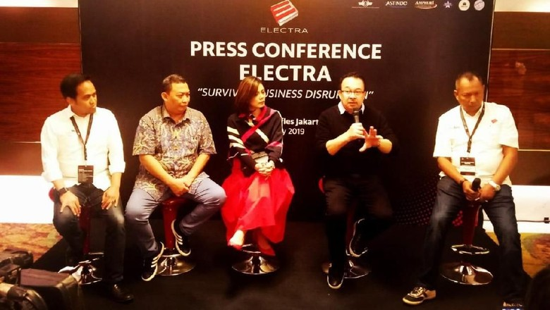 Press conference peluncuran aplikasi Elektra (dok Sabre)
