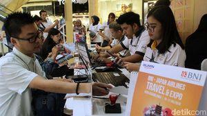 Berburu Tiket Murah di BNI-JAL Travel Fair 2019