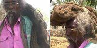 Penampilan Sakal Dev Tuddu tak cuci dan potong rambut selama 40 tahun