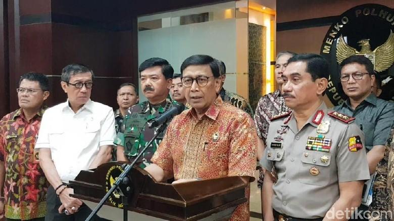 Wiranto: Proyektil di Tubuh Korban Tewas Rusuh 21-22 Mei Bukan dari Polri