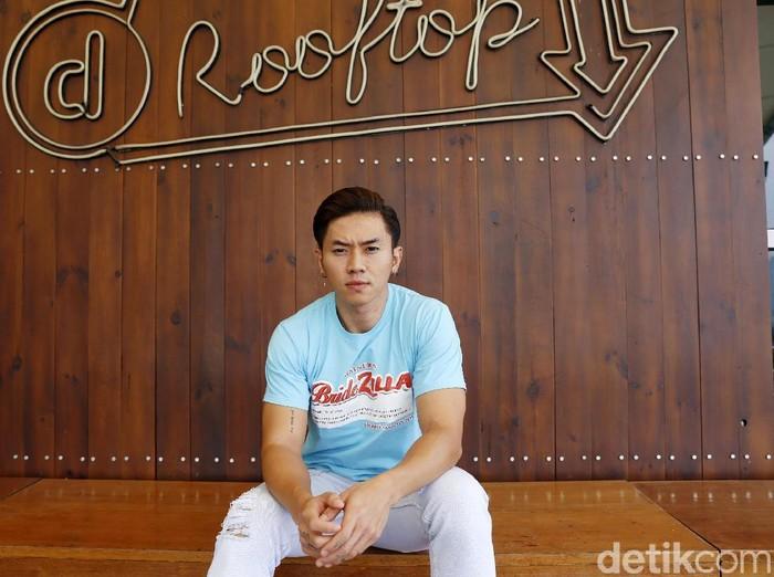 Rafael Tan saat berkunjung ke kantor detikcom.
