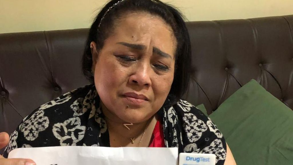 Nunung Tinggal di TKP Penggerebekan Sabu Bersama Suami dan Anak Tiri