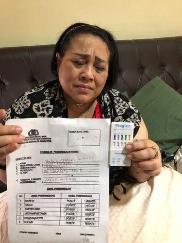 Komedian Nunung dan hasil tes urine usai ditangkap