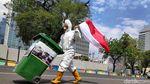 Demo Tolak Impor Sampah di Depan Dubes AS