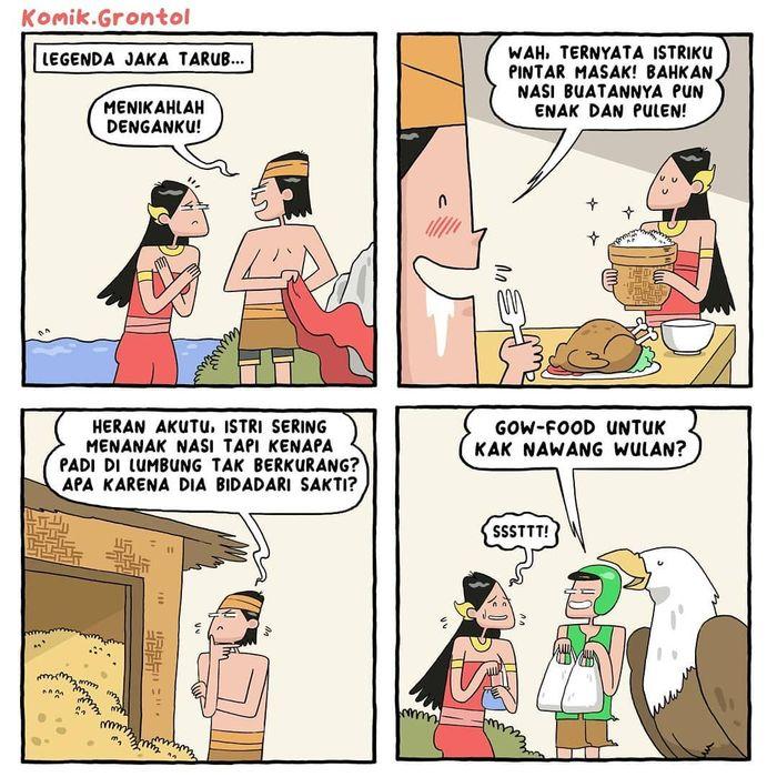 8 Komik Strip Tema Makanan Ini Dijamin Bikin Ngakak