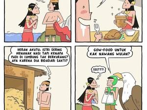 8 Komik Strip Tema Makanan Ini Dijamin Bikin Ngakak!
