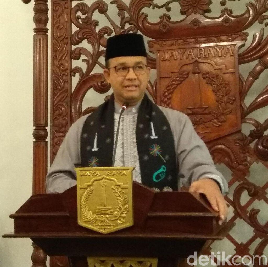 Anies Minta DPRD Terpilih Segera Tuntaskan PR Pemilihan Wagub DKI