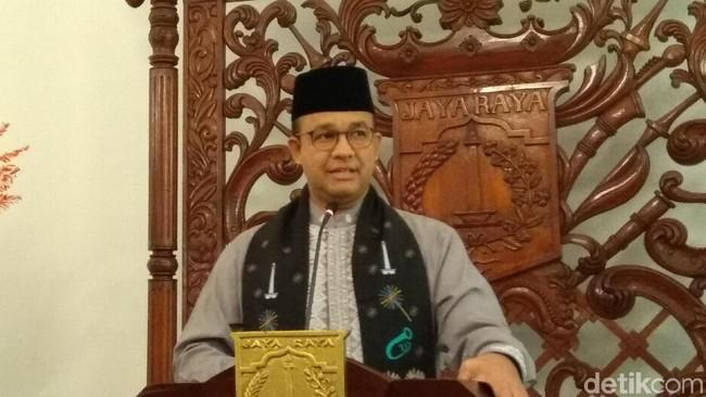 Gubernur DKI Jakarta Anies Baswedan/Foto: Anies Baswedan (Fida/detikcom)