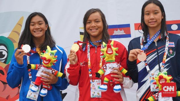 Klasemen Medali ASG 2019: Indonesia Tertinggal dari Thailand