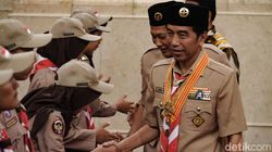 Jokowi Lepas Kontingen Gerakan Pramuka ke Jambore Sedunia di AS