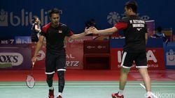 Terlalu! Hendra/Ahsan Bikin Suporter Indonesia Senam Jantung