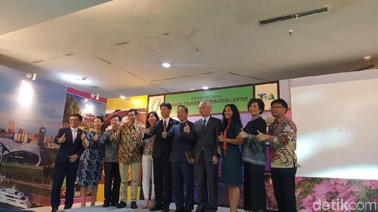 Peresmian Taiwan Tourism Information Center di Jakarta (Syanti Mustika/detikcom)