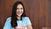 Jessica Mila saat berkunjung ke kantor detikcom, Jakarta Selatan belum lama ini.