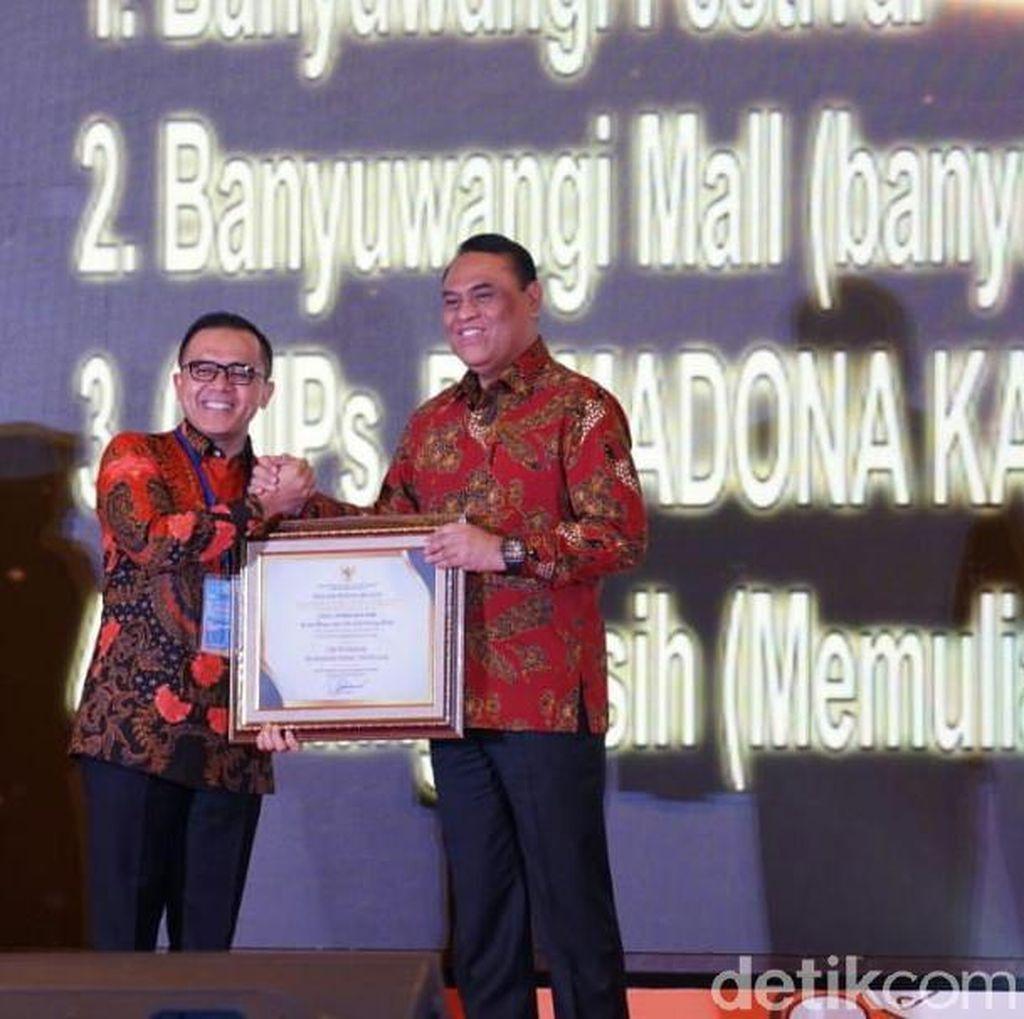 Lima Inovasi Pelayanan Punblik Banyuwangi Diganjar Penghargaan Menpan RB