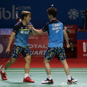 Jadwal Semifinal China Open: Duel Kevin/Marcus dan Fajar/Rian