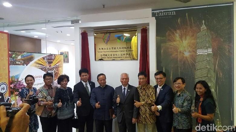 Pusat informasi wisata Taiwan di Jakarta (Syanti Mustika/detikcom)
