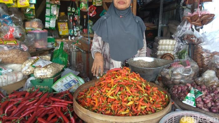 Foto: Harga Cabai Naik (Suparno Nodhor/detikFinance)