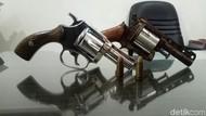 Polisi Tangkap Petani di OKI Sumsel, 2 Pucuk Senpi Rakitan Disita