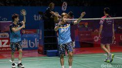 Kevin/Marcus Juarai Denmark Open Usai Kalahkan Hendra/Ahsan