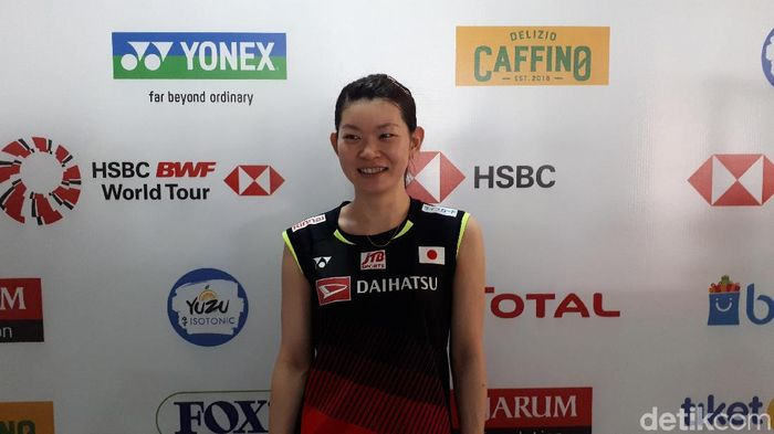 Misaki Matsutomo/Ayaka Takahashi lolos ke final Indonesia Open 2019. (Foto: Mercy Raya / detiksport)