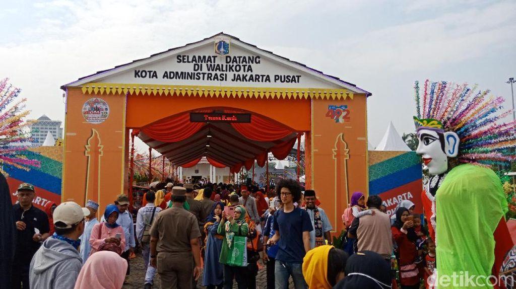 Anies, Lulung hingga Hidayat Nur Wahid Hadiri Lebaran Betawi di Monas