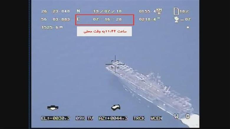 Sangkal AS soal Drone Ditembak Jatuh, Iran Rilis Bukti Rekaman Video