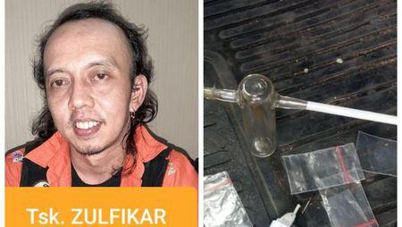 Zulfikar Alias Jamal Preman Pensiun Ditangkap karena Sabu