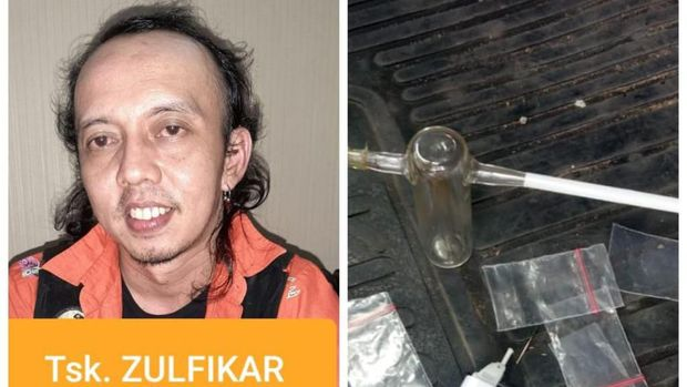 Jamal aka Zulfikar di Preman Pensiun tertangkap narkoba
