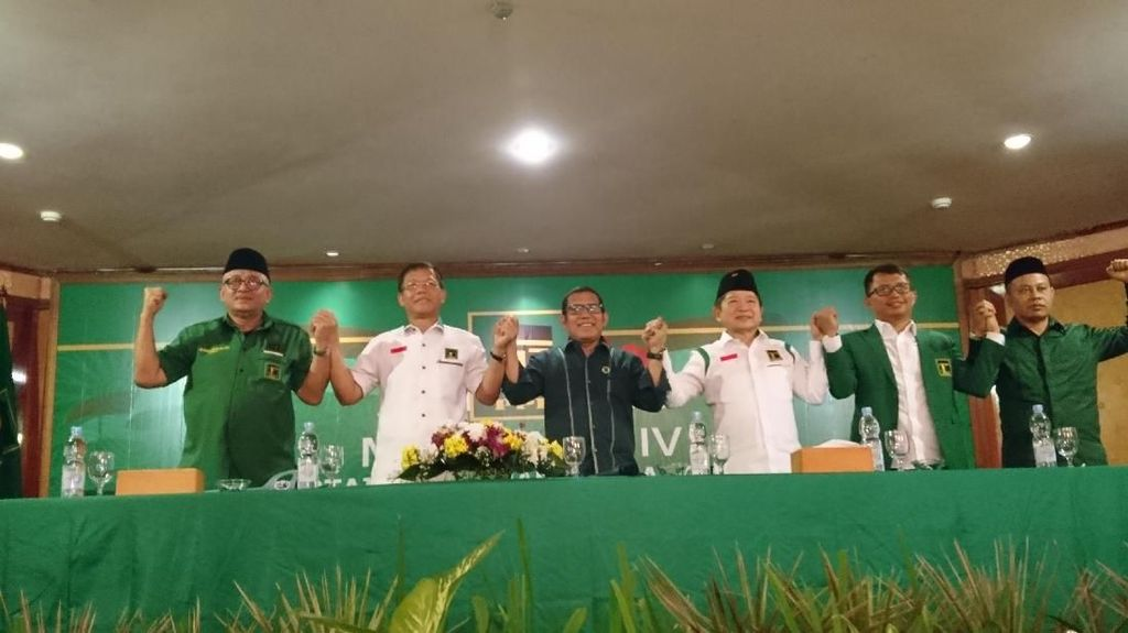Rekomendasi Mukernas, PPP Siap Kawal Jokowi Kurangi Kemiskinan-Pengangguran
