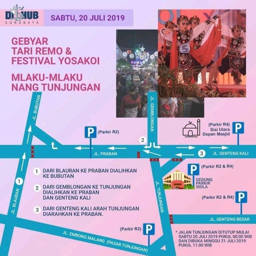 Cross Culture Festival 2019, Jalan Tunjungan Surabaya akan Ditutup