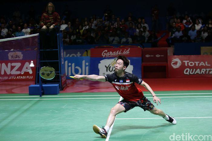 Kevin Sanjaya Sukamuljo/Marcus Fernaldi Gideon masih terlalu tangguh untuk ganda Li Jinhui/Liu Yu Chen. The Minions pun akan menantang Hendra/Ahsan di final.