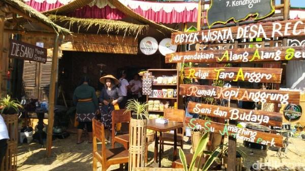 Kabupaten Wonosobo memperkenalkan Desa Wisata Anggrunggondok yang bahkan sudah menyiapkan paket kemping dan museum tani (Angling Adhitya Purbaya/detikcom)