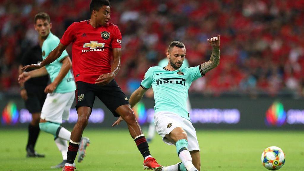 MU Vs Inter Milan Masih Tanpa Gol di Babak Pertama ICC 2019