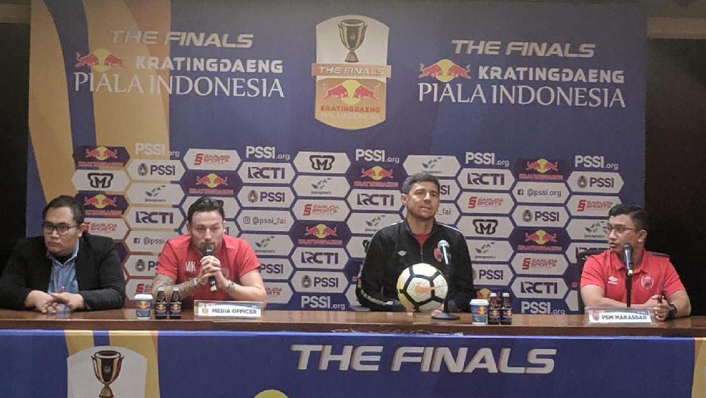 Janji Marc Klok Antar PSM Juarai Piala Indonesia 2018