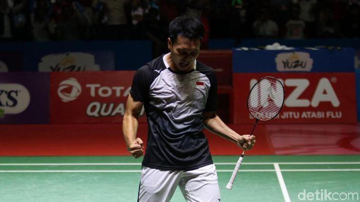 Mohammad Ahsan mengincar titel juara dunia ketiga. (Foto: Agung Pambudhy)